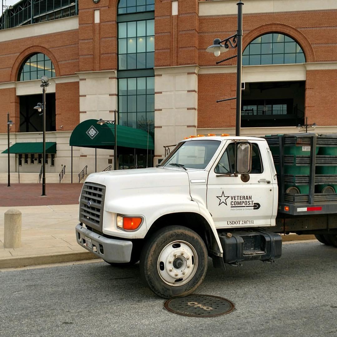 Veteran Compost Truck